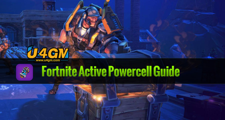 Fortnite Materials Guide for Active Powercell