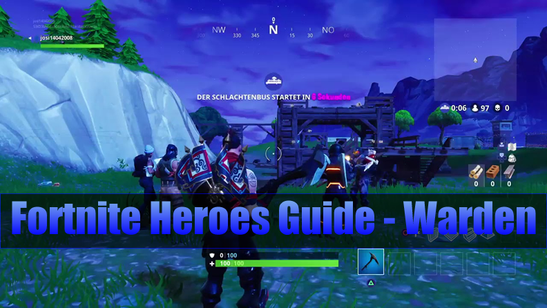 The Most Complete Fortnite Heroes Guide to Warden