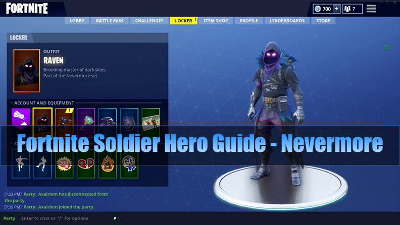 The Most Complete Fortnite Soldier Hero Guide - Nevermore