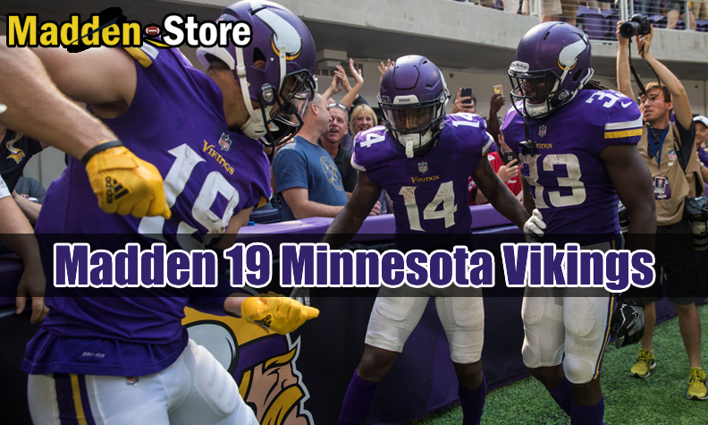 Minnesota Vikings Madden 19 Team Guide: Ratings & Best Players & Review