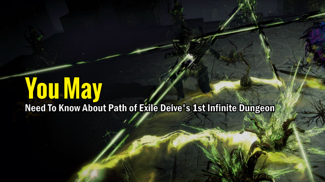 You may need to know about Path of Exile Delve