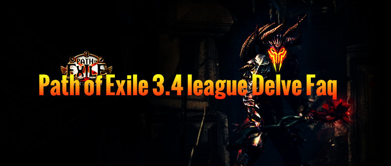 Path of Exile 3.4 league Delve Faq