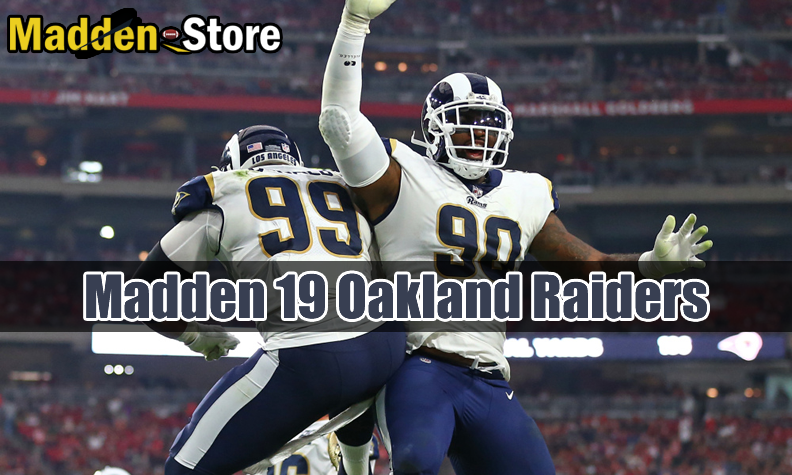 Oakland Raiders Madden 19 Team Guide: Ratings & Best Players & Review