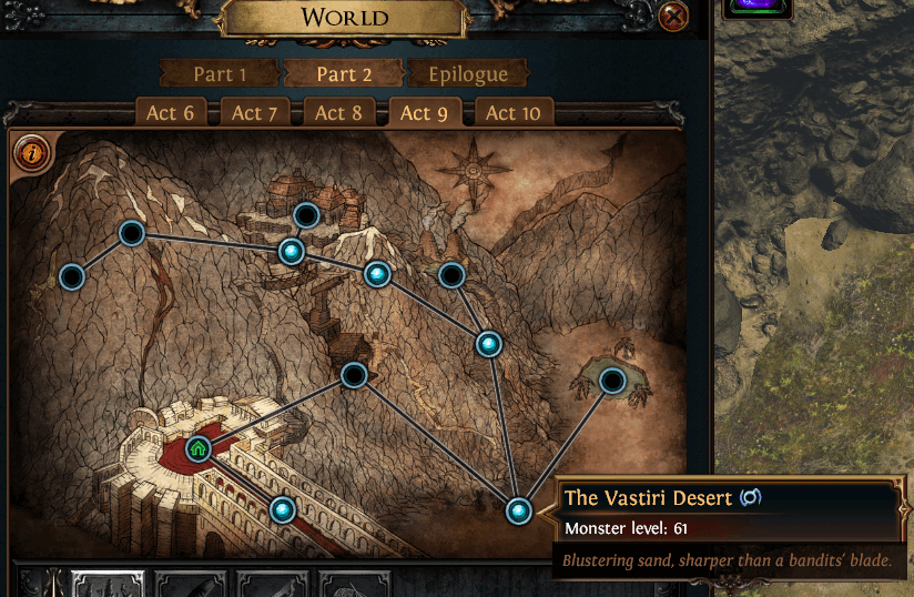 Path of Exile Act 9 Quests Guide and associated NPC information
