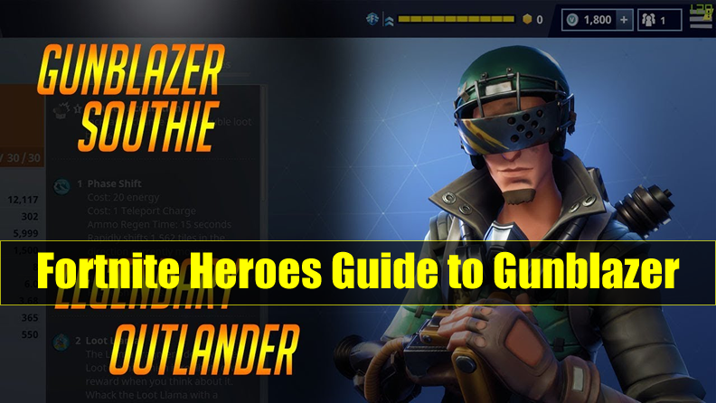 Fortnite Outlander Heroes Guide to Gunblazer: Skin & Perks