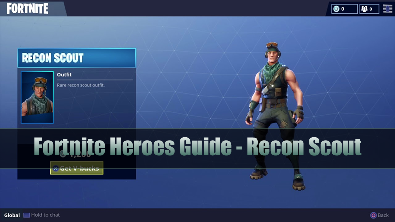 The Most Complete Fortnite Outlander Heroes Guide - Recon Scout