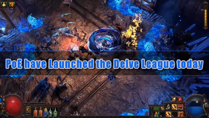 Path of Exile have Launched the Delve League today