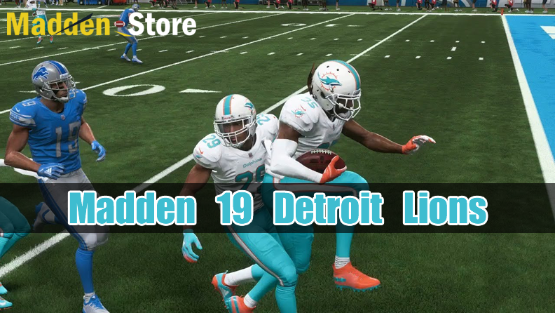new styles 79c3c 8fc6b Detroit Lions Madden 19 Team Guide: Ratings & Best Players ...