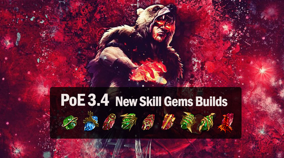 Path of Exile 3.4 New Skill Gems Builds