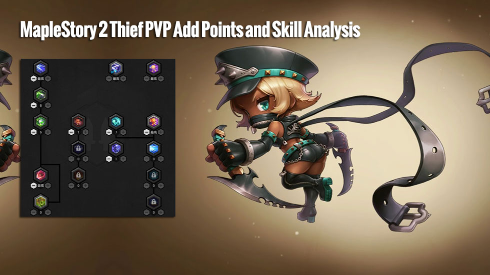 MapleStory 2 Thief PVP Add Points and Skill Analysis