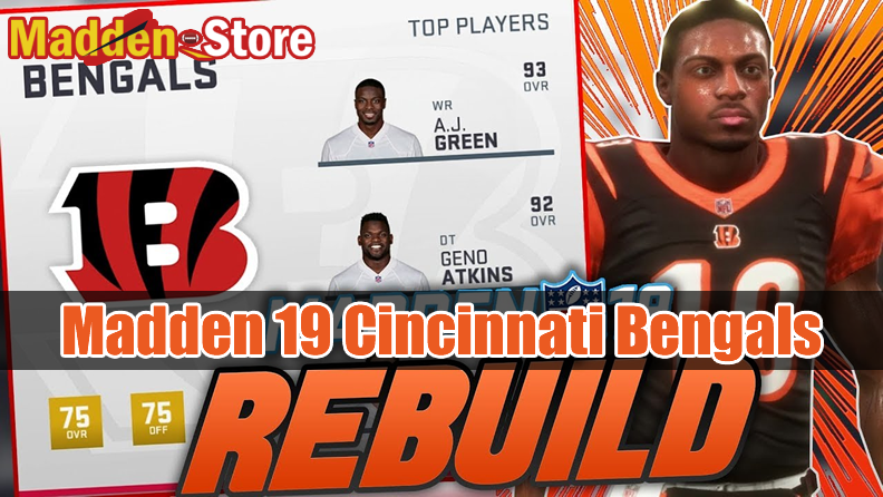 Cincinnati Bengals Madden 19 Team Guide: Ratings & Best Players & Review