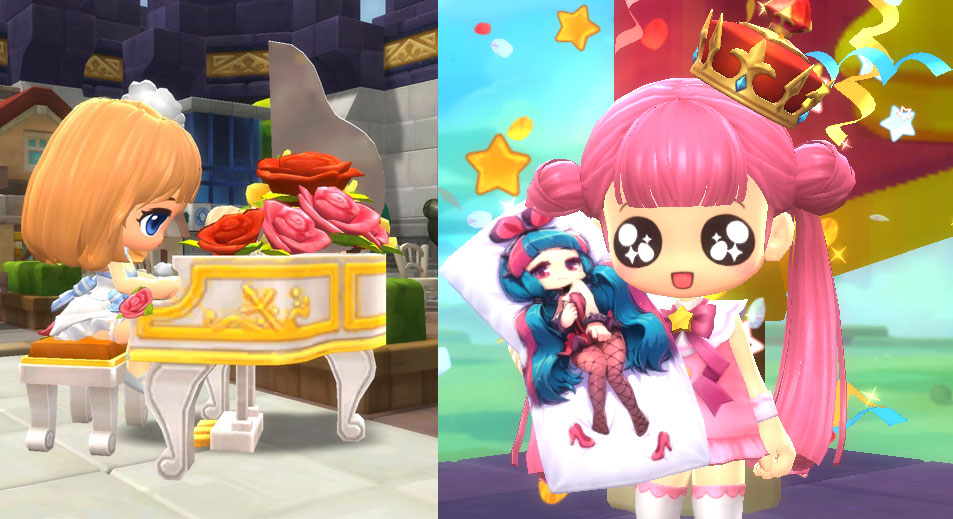 Ways to style up your MapleStory 2 character or offer you convenience items
