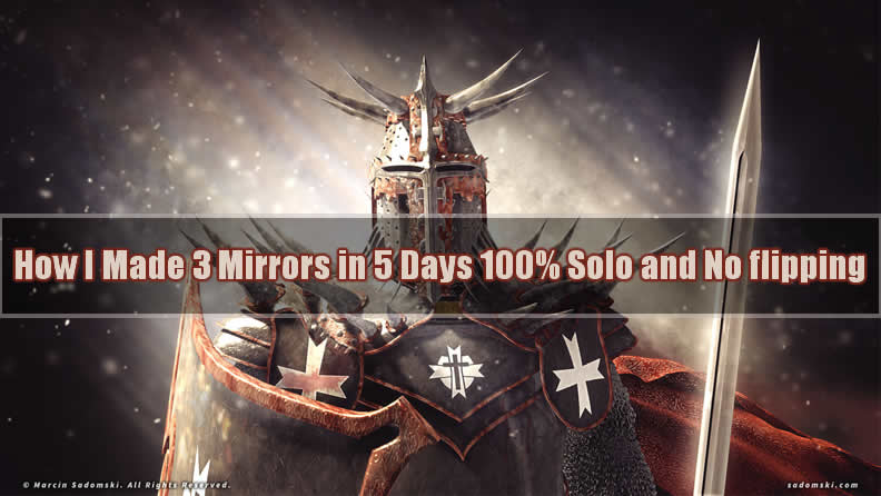 How I Made 3 Mirrors in 5 Days 100% Solo and No flipping on PoE Delve