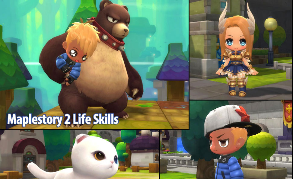 Maplestory 2 Life Skills Guides