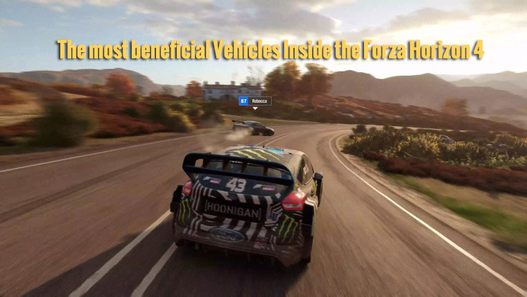 The most beneficial Vehicles Inside the Forza Horizon 4