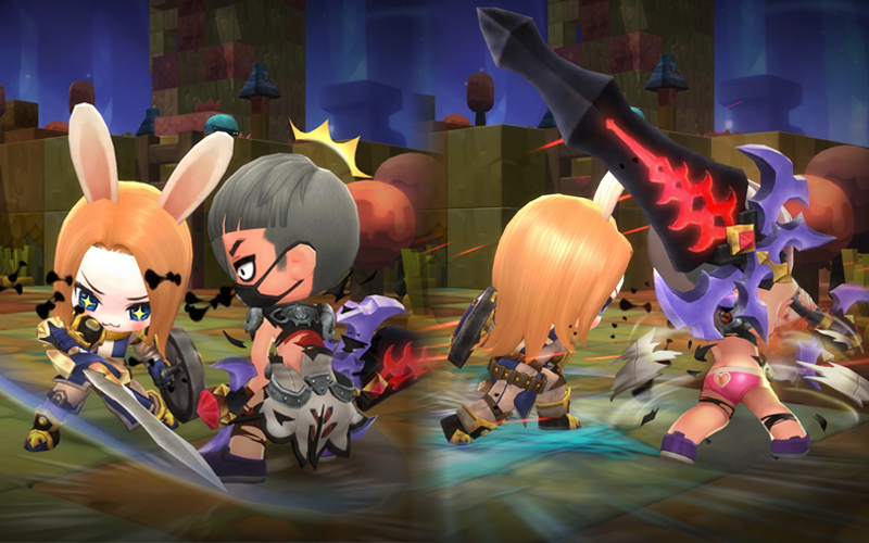 Maplestory 2 Berserker Skill Builds and Choose Equipment Guides