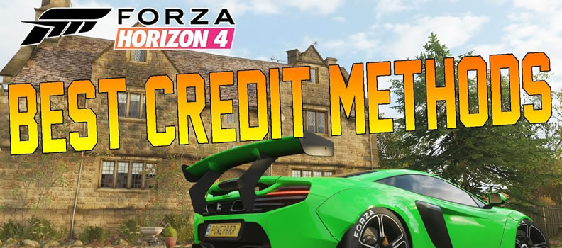 4 Easy Ways To Make Credits(CRs) In Forza Horizon 4