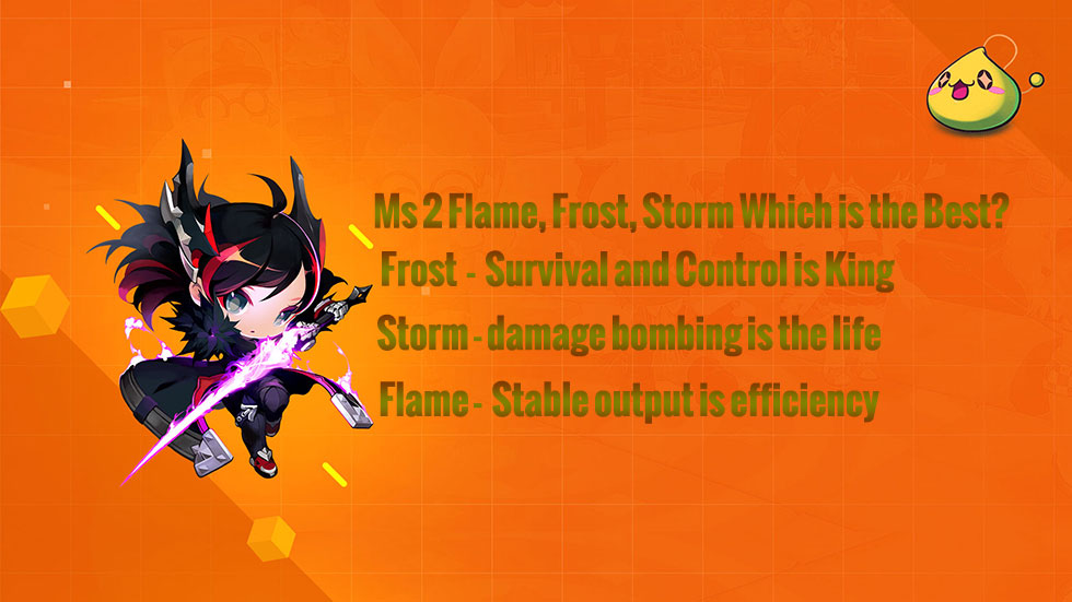 Maplestory 2 RuneBlade Flame, Frost, Storm Which is the Best?
