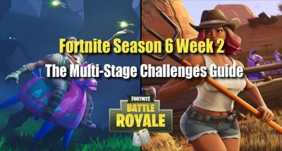 How Can You Complete Fortnite Season 6 Week 2 Multi-Stage Challenges