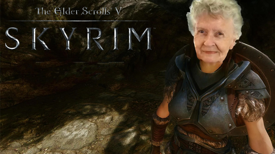 Fans Hope Skyrim-Playing Grandma To Be Immortalised In The Elder Scrolls 6