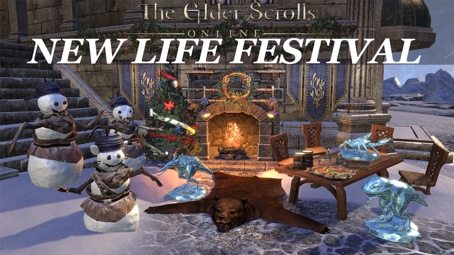 ESO Invites Players To The New Life Festival
