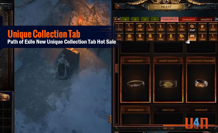 Path of Exile New Unique Collection Tab Hot Sale