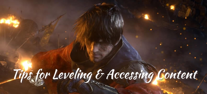 Final Fantasy XIV Leveling Tips for New Players