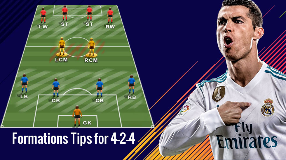 FIFA 20 Formations Tips for 4-2-4