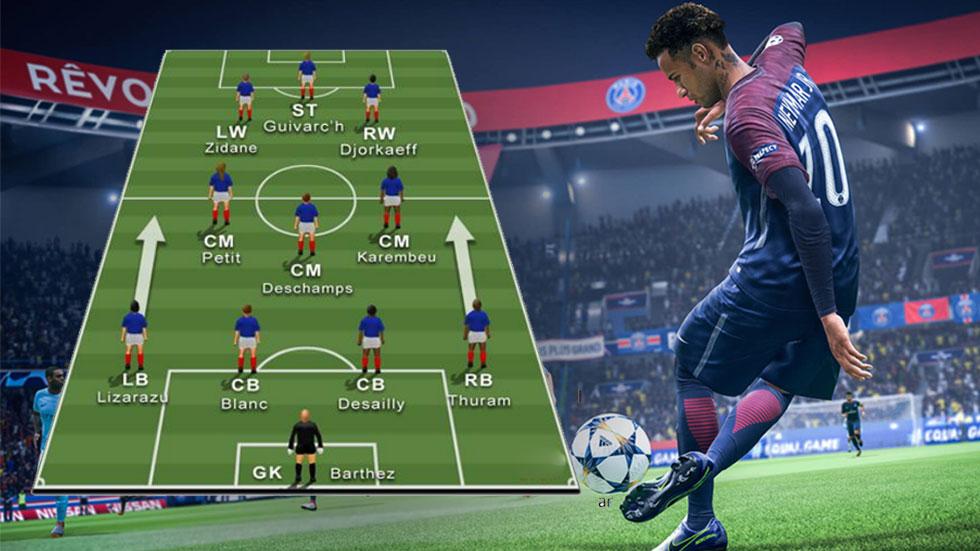 FIFA 20 Custom Tactics For France Les Bleus - The Famous Double