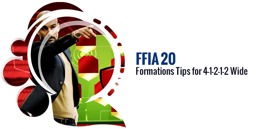 FIFA 20 Formations Tips for 4-1-2-1-2 Wide