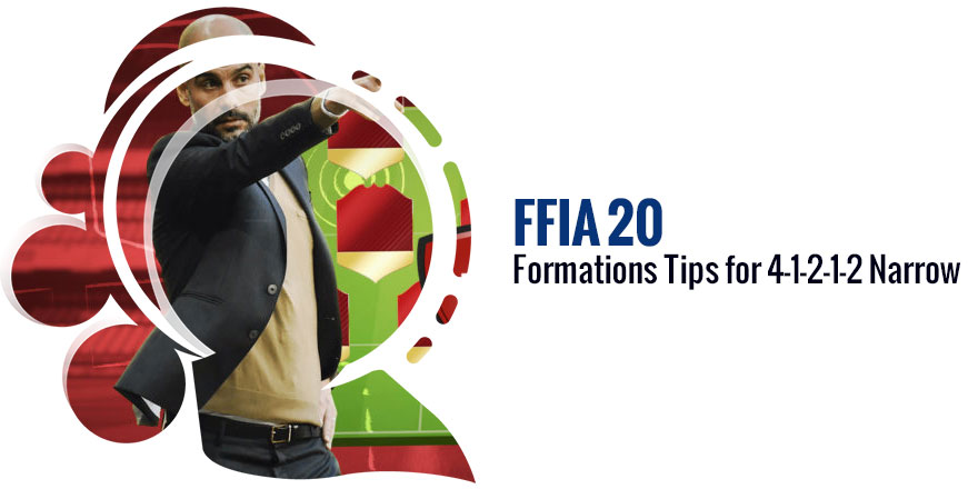FIFA 20 Formations Tips for 4-1-2-1-2 Narrow