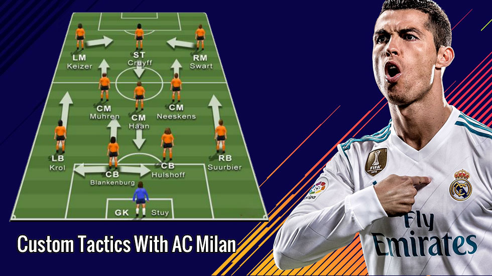 FIFA 20 Custom Tactics With AC Milan