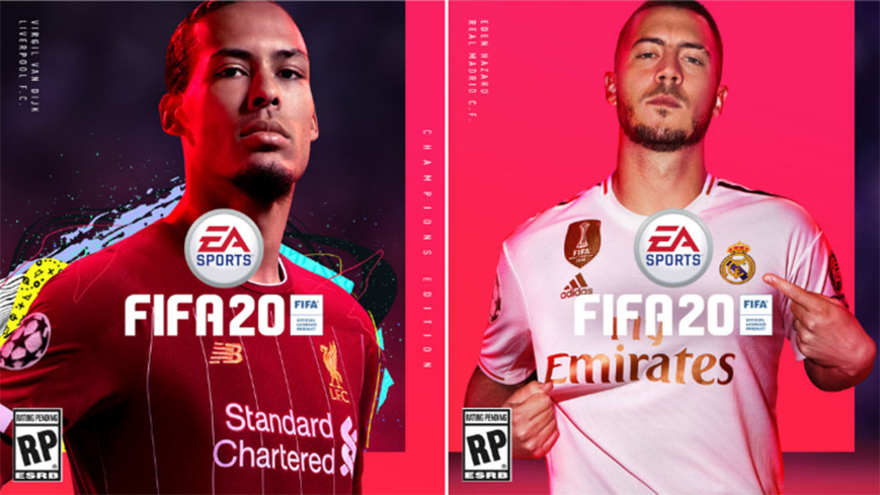 FIFA 20 Cover and Top 10 Players Predicting