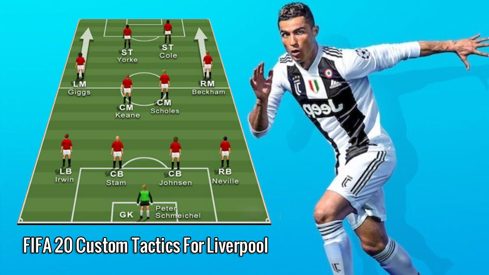 FIFA 20 Custom Tactics For Liverpool – The Red Machine