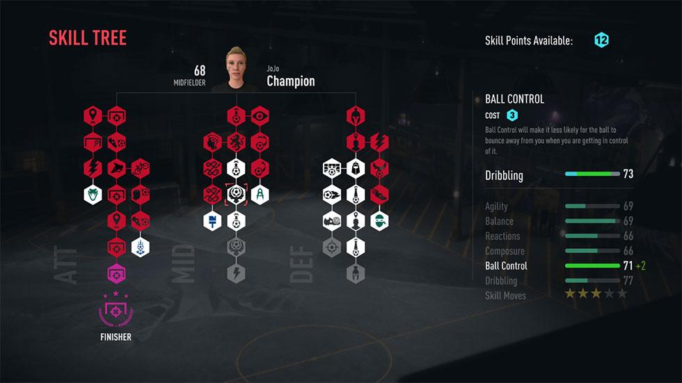 FIFA 20  VOLTA FOOTBALL Skill Tree