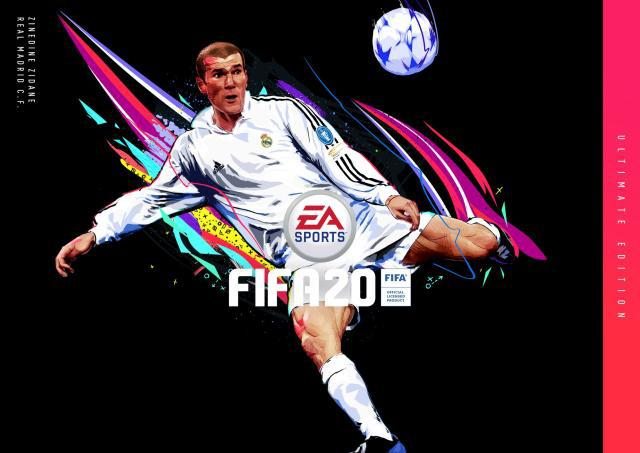 Zidane is FIFA 20 Ultimate Cover and Add to UT mode