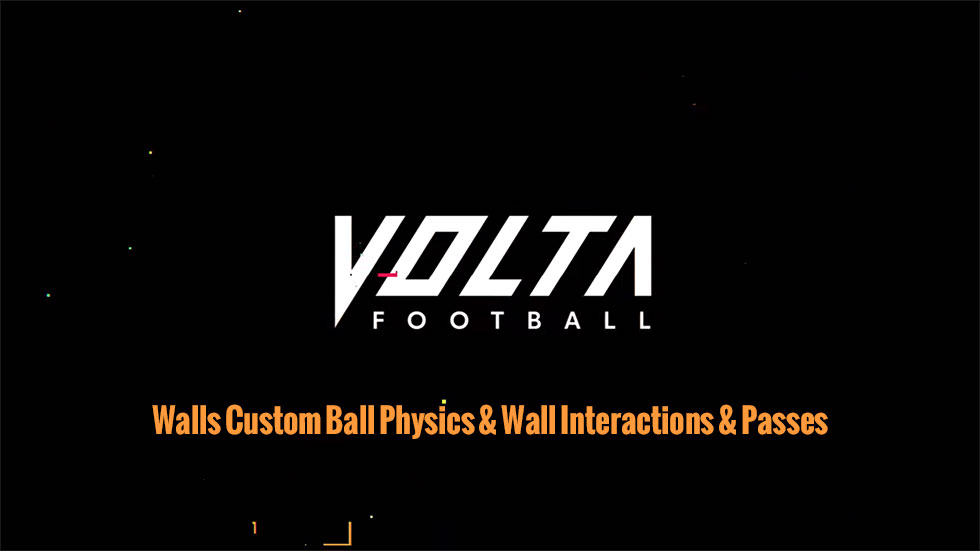 FIFA 20 VOLTA FOOTBALL Walls Custom Ball Physics & Wall Interactions & Passes