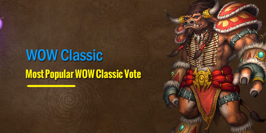 Most Popular WOW Classic Class Vote