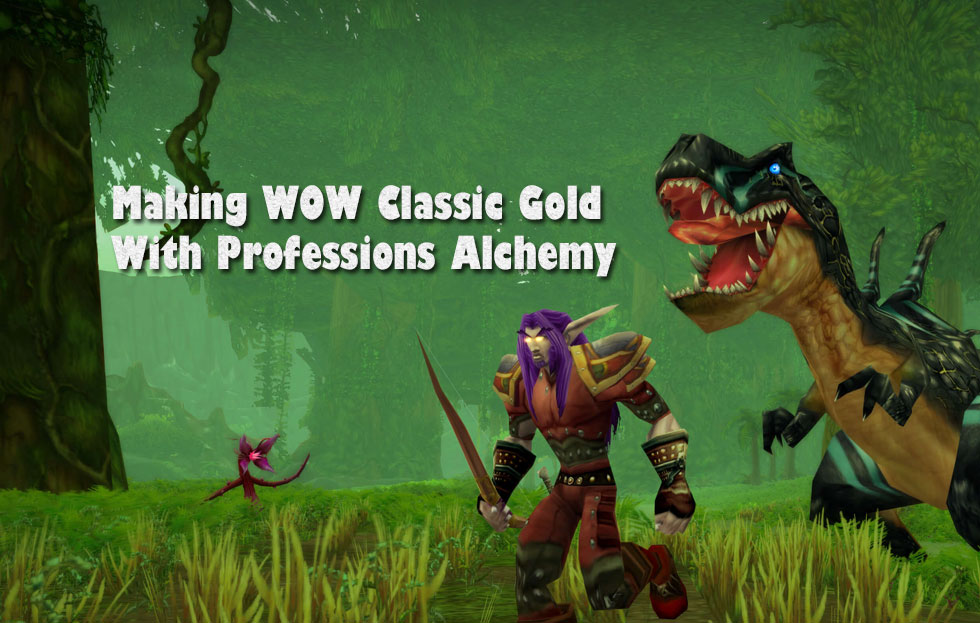Making WOW Classic Gold With Professions Alchemy