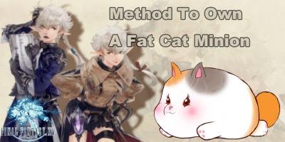 Final Fantasy XIV Guide: Method To Own A Fat Cat Minion