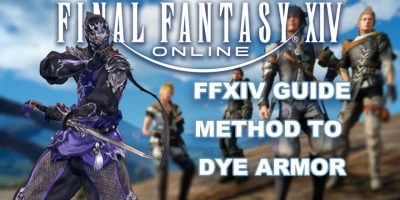 Final Fantasy XIV Guide: Method To Dye Armor