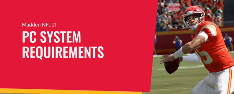 Madden NFL 21 PC Specs & System Requirements