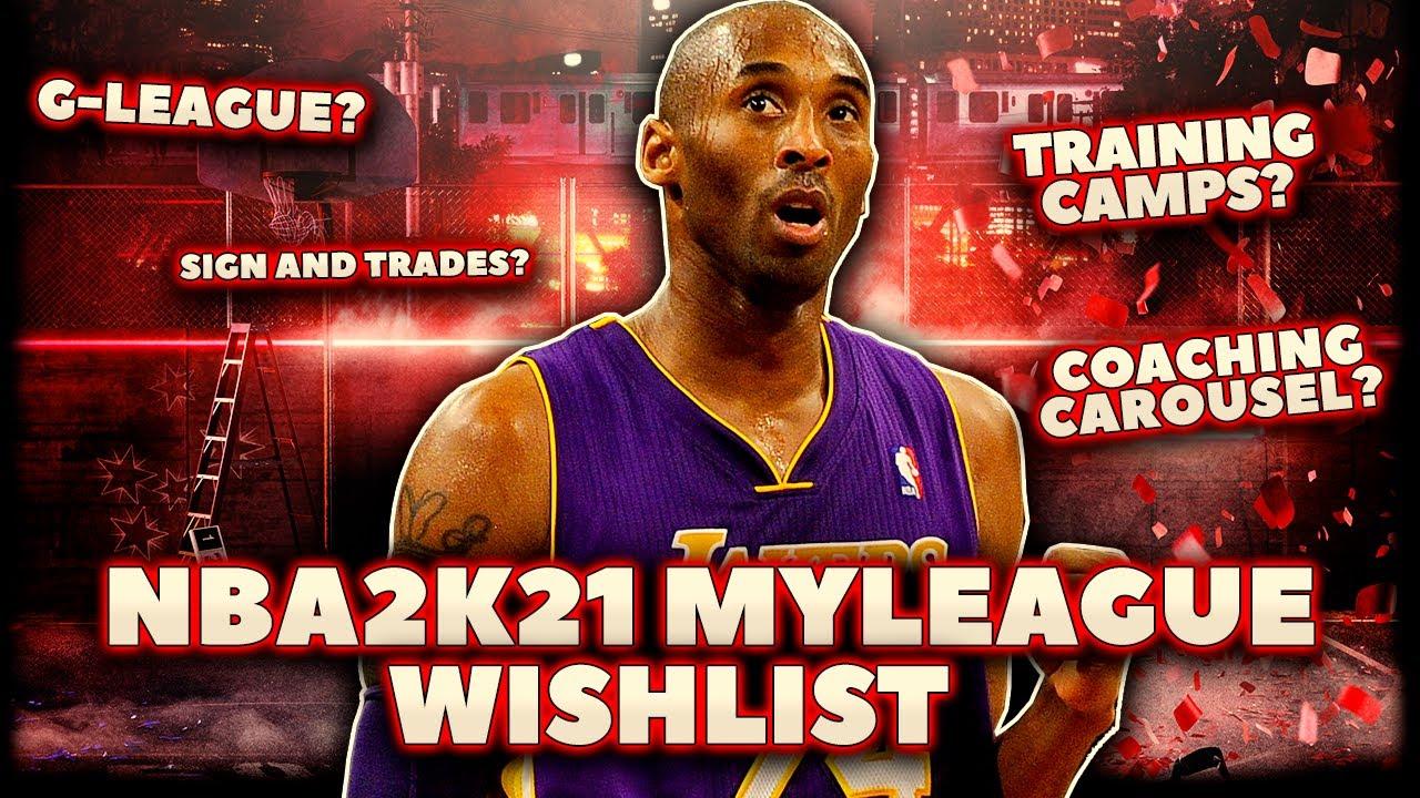 NBA 2K21: MyLeague Wishlist