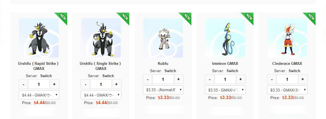 PogoBuy: Updating Pokémon Sword and Shield Products
