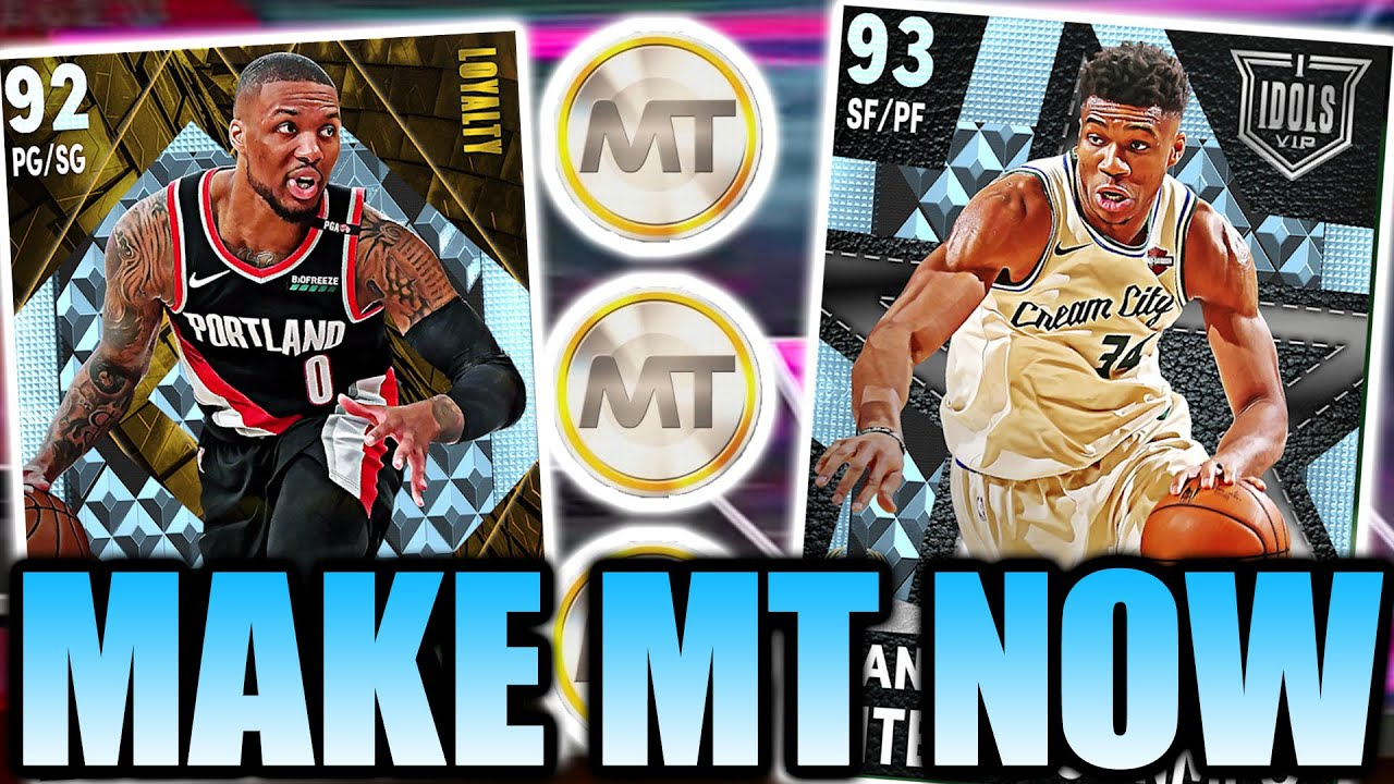 How Do You Get MT Fast in NBA 2K21?