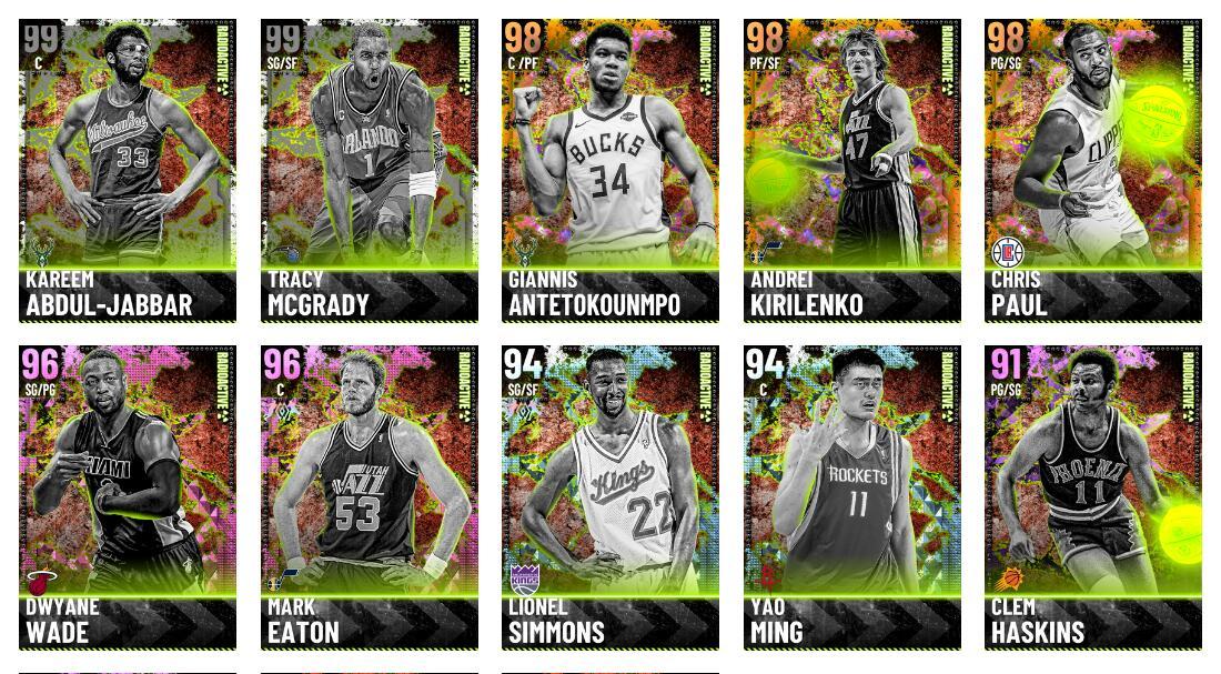 NBA 2K21 Strongest Dark Matter shooting guard Tracy McGrady
