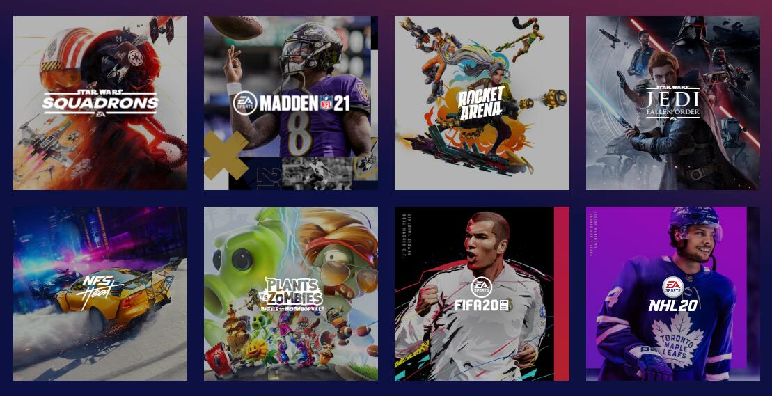 The top ten best sports games viewed by Xbox Game Pass by subscription