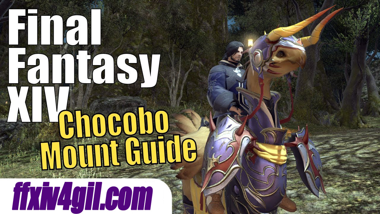 FFXIV: How to Get a Chocobo Mount and Make it Your Companion?