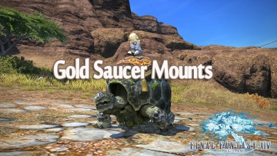 Final Fantasy XIV Mounts – In-game Purchase