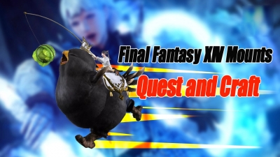 Final Fantasy XIV Mounts – Quest and Craft Mounts